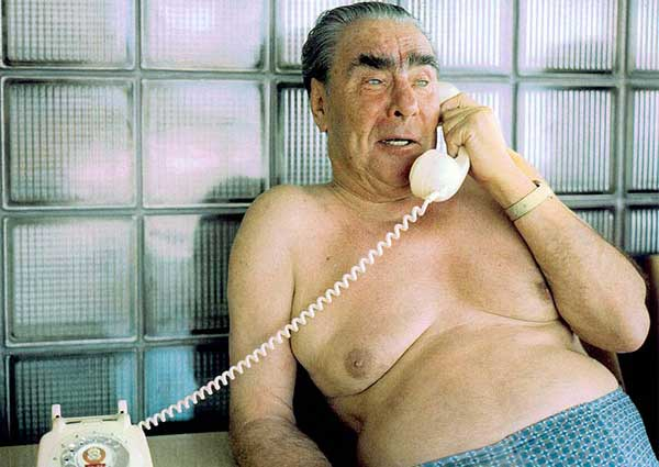 Another late night call with Finnish President and sauna buddy, Urho Kekkonen.