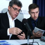 Boris Nemtsov and Leonid Martynyuk
