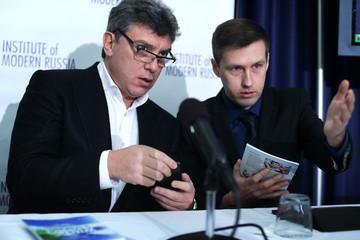 Boris Nemtsov and Leonid Martynyuk