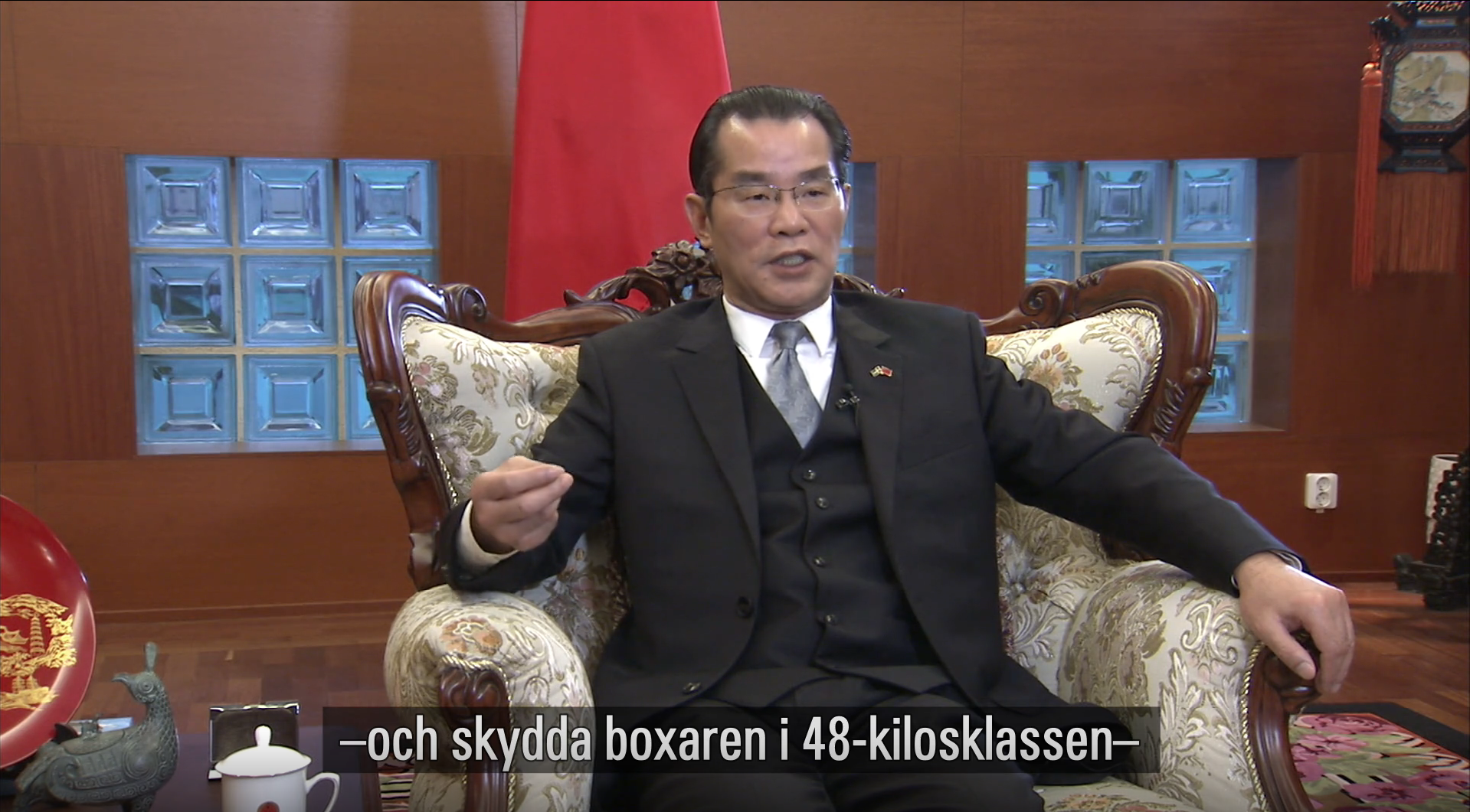 "Chinese ambassador issues ""unacceptable threat"" against Sweden"